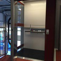 Platformlift glazen