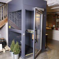 Platformlift in huis