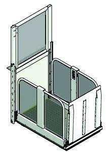 Rolstoellift LF1300 Tekening