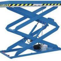 Dubbele verticale schaarlift / heftafel / goederenlift