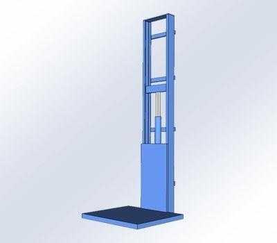 goederenlift / magazijnlit 500 kg