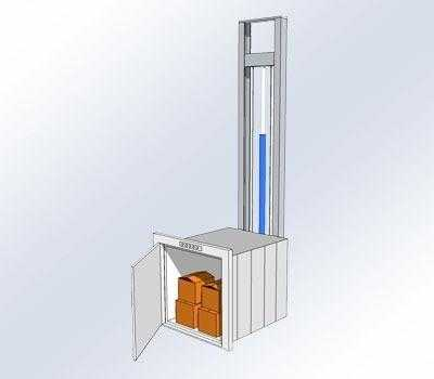 Magazijnlift / klein goederenlift
