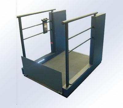 LF800 Plateaulift overbrug 1 meter