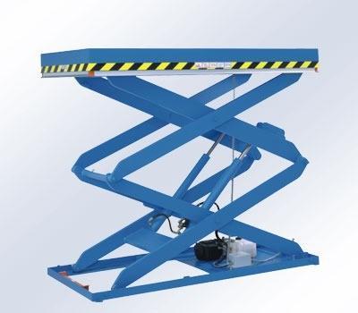 verticale schaartafel / heftafel / goederenlift