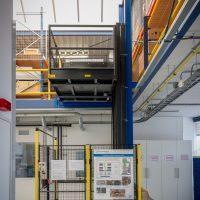 lift zonder bouwkundige schacht