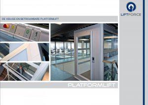 Brochure van de compacte huislift / platformlift