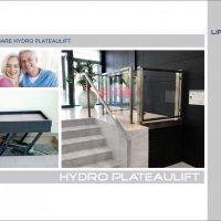 Brochure van de hydro plateaulift