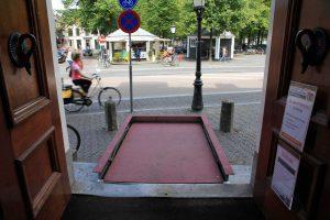 Platform rolstoellift Utrecht